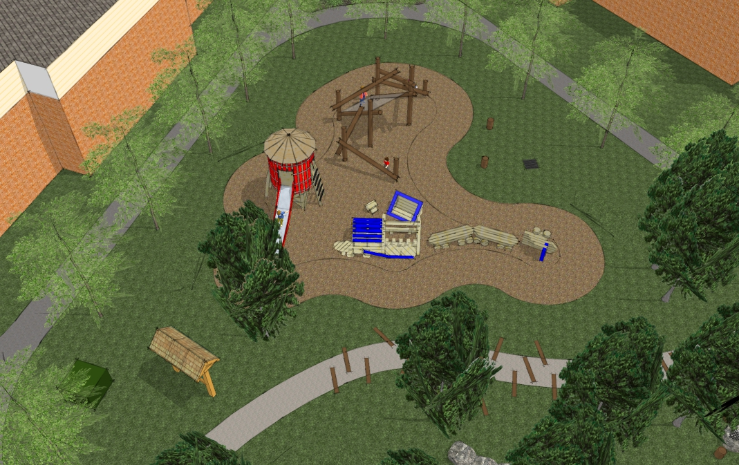 waterloo park playground design